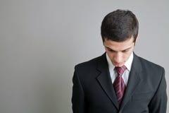 Jeunes hommes d'affaires dans un procès d'affaires Image libre de droits