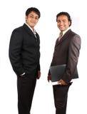 Jeunes hommes d'affaires indiens photo stock