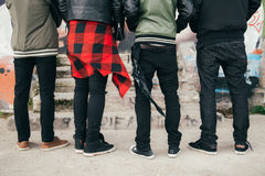 Jeunes hommes urbains Photos stock