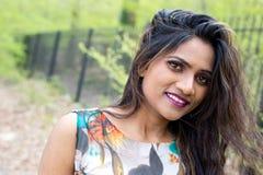 jeunes indiens de femme images stock