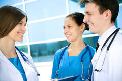 Jeunes médecins Image stock