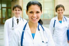 Jeunes médecins Photos libres de droits