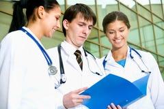 Jeunes médecins Images libres de droits