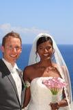 Jeunes mariée et marié Image libre de droits