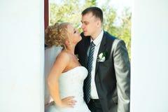 Jeunes mariés Images stock