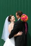 Jeunes mariés Photo libre de droits