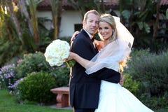 Jeunes mariés Photos stock