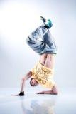 jeunes modernes d'homme de danse Photo stock