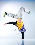 jeunes modernes d'homme de danse Photo libre de droits