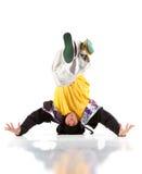 jeunes modernes d'homme de danse Photos libres de droits