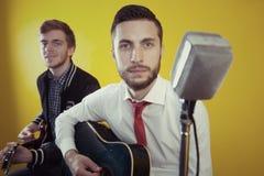 Jeunes musiciens Images libres de droits