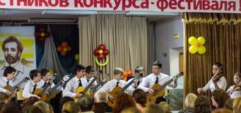 Jeunes musiciens Images stock