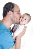Jeunes père et chéri Photographie stock