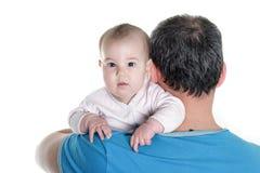 Jeunes père et chéri Photographie stock libre de droits