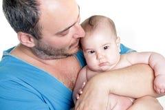 Jeunes père et chéri Photos libres de droits