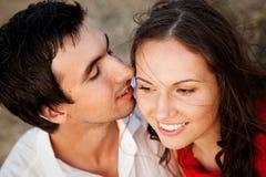 Jeunes paires d'amants Images libres de droits