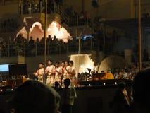 Jeunes prêtres de Brahmin Photos libres de droits