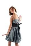 jeunes sensuels de femme de verticale Photo libre de droits