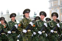 Jeunes soldats Photo libre de droits