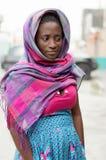 jeunes timides de femme Image libre de droits