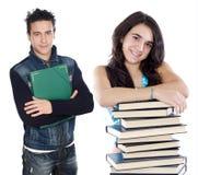 Jeunes étudiants Photos libres de droits