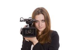 jeunes visuels d'opérateur Photo libre de droits