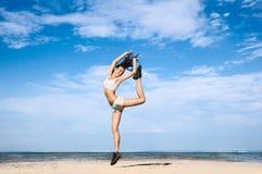 jeunesse de saut de santé Photos stock