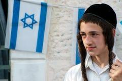 Jeunesse israélienne juive de colon Photographie stock