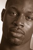 Jeunesse noire Image libre de droits