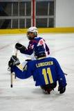 Jeux 2010 de l'hiver de Paralympic Images stock