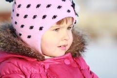 Jeux avec la neige Image libre de droits
