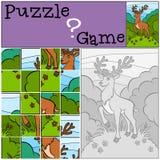 Jeux d'enfants : Puzzle E Photos libres de droits
