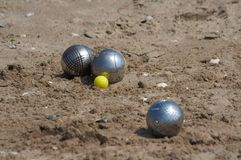 Jeux de boules Royalty Free Stock Images