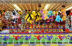 Jeux de carnaval Photos stock