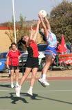 Jeux de dames de ligue de Korfball Image stock