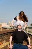 Jeux de danger Photo libre de droits