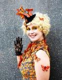 Jeux de faim Effie Trinket Cosplay photos stock