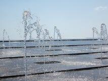 Jeux de l'eau Images libres de droits