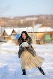 Jeux de l'hiver Photo libre de droits