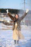Jeux de l'hiver Images libres de droits