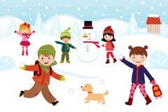 Jeux de l'hiver Photographie stock
