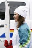 Jeux de l'hiver de Jeux Olympiques de Vancouver Images libres de droits