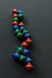 jeux de matrices Photo libre de droits