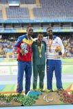 Jeux de Paralympic Rio 2016 photo stock