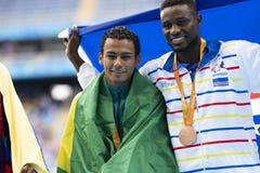 Jeux de Paralympic Rio 2016 photos libres de droits