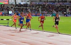 Jeux de plein air internationaux de DecaNation le 13 septembre 2015 à Paris, France Photographie stock