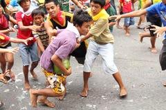 Jeux de rue Images stock