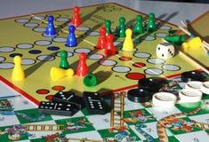 Jeux de société image libre de droits
