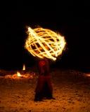 Jeux du feu Photo libre de droits