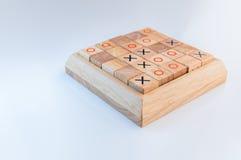 Jeux en bois pour le développement d'éducation et d'intelligence Images libres de droits